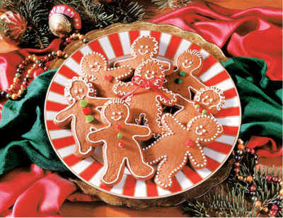 Gingerbread Goodies 1000 Piece Jigsaw Puzzle