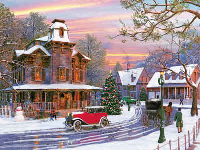 Holiday Avenue 1000 Piece Jigsaw Puzzle