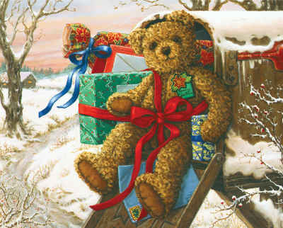 Holiday Delivery 1000 Piece Jigsaw Puzzle