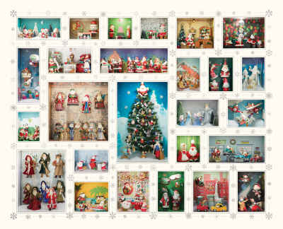 Santa's World 1000 Piece Jigsaw Puzzle