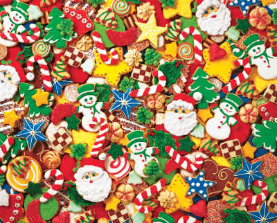 Cookie Cutouts 2000 Piece Jigsaw Puzzle