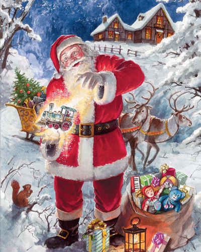 Christmas Magic 350 Piece Jigsaw Puzzle
