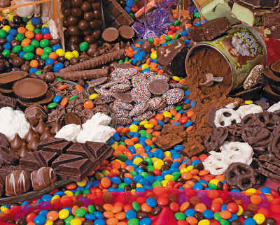 Chocolate Sensation 1000 Piece Delicious Delights Jigsaw Puzzle