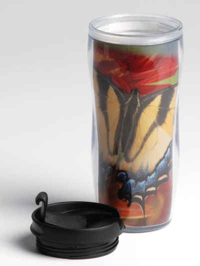 Butterflies Cold Drink Tumbler