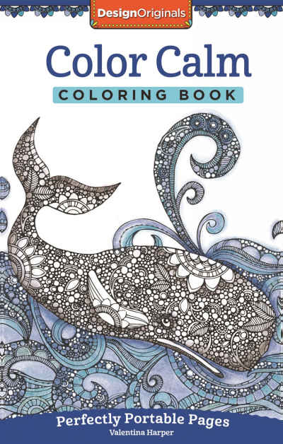 Color Calm On The Go Adult Coloring Book