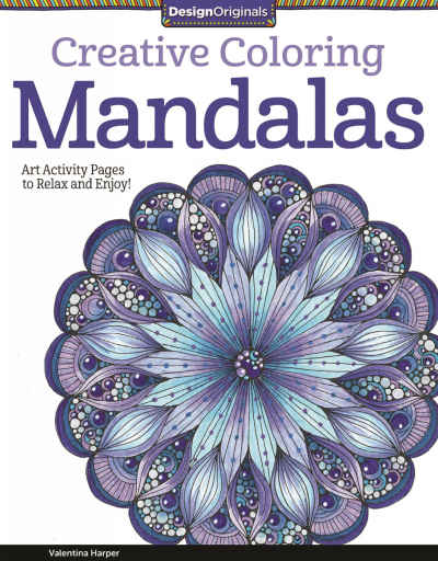 Mandalas Creative Coloring Adult Coloring Book