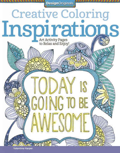 Inspirations Creative Coloring Adult Coloring Book