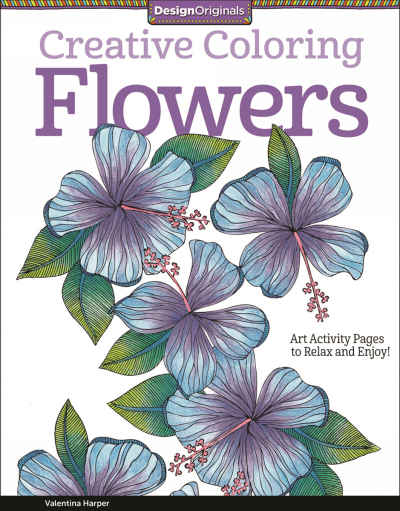 Flowers Creative Coloring Adult Coloring Book