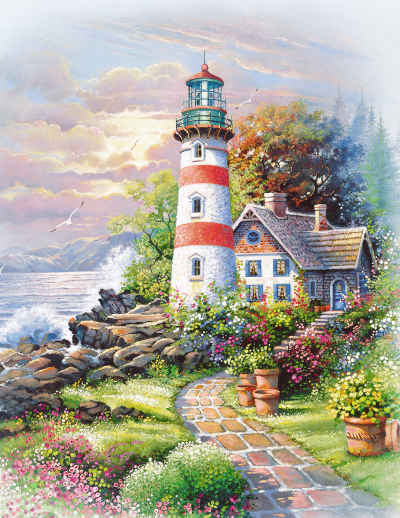 Signal Point 36 Piece Jigsaw Puzzle