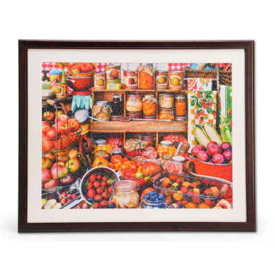 "1000 Piece Jigsaw Puzzle Frame Wooden Frame for Puzzles 24"" x 30"""