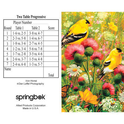 Goldfinch Bridge Tally Sheets Bridge Playing Cards Accessory
