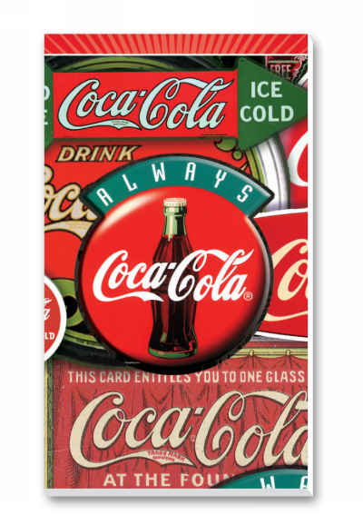 Coca-Cola Classics Bridge Score Pads Playing Cards Accessory