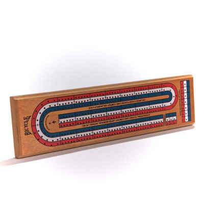 Bicycle Playing Cards Cribbage Board Game