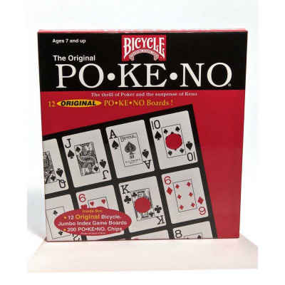 Bicycle Playing Cards Original Pokeno Board Game