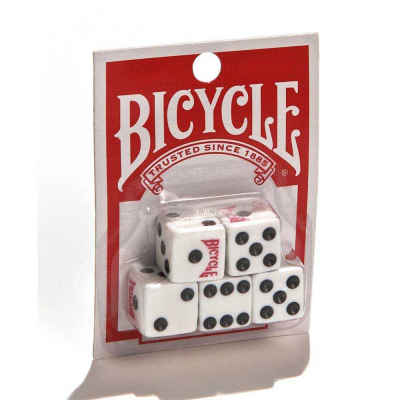 Bicycle Playing Cards 5 Pack of Dice Accessory