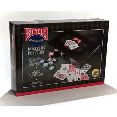 Bicycle Masters Poker Set Adult Playing Cards Game