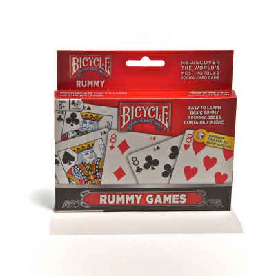 Bicycle Playing Cards Rummy Game Set