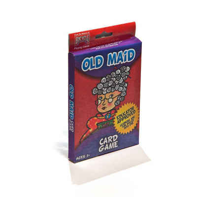 Hoyle Old Maid Oversized Card Game Kids Playing Cards