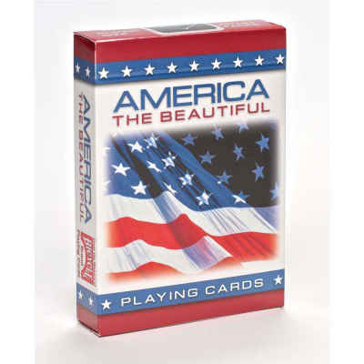 American Flag Playing Cards Standard Index Playing Cards