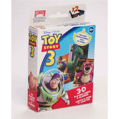Disney Toy Story 3 - 3D Oversized Playing Cards Kids Playing Cards