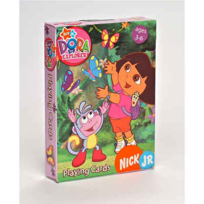 Nickelodeon Dora the Explorer Playing Cards Kids Playing Cards