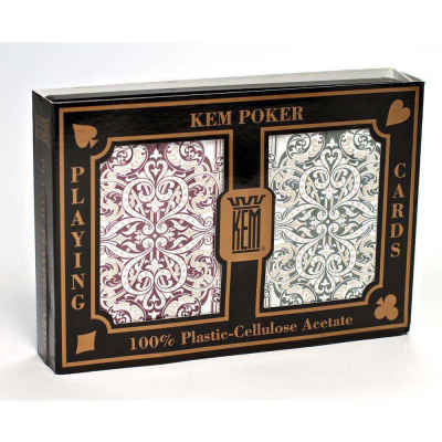 Kem Jacquard Wide Standard Index Playing Cards
