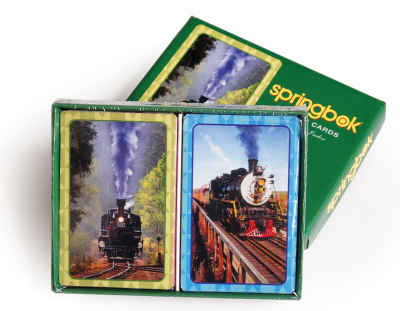 Iron Horse Bridge Playing Cards Standard Index Playing Cards