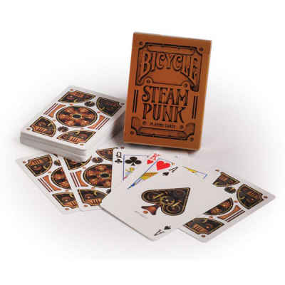 Steam Punk Bicycle Playing Cards Standard Index Playing Cards