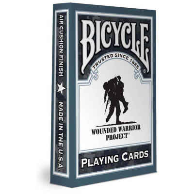 Wounded Warrior Bicycle Playing Cards Standard Index Playing Cards