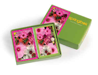 Blossom Bouquet Bridge Playing Cards Jumbo Print Index Playing Cards