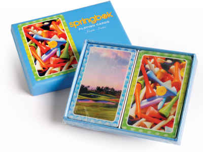 Tee it Up! Bridge Playing Cards Jumbo Print Index Playing Cards