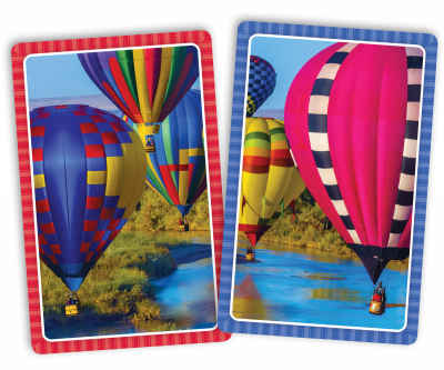 Take Flight Jumbo Print Index Playing Cards
