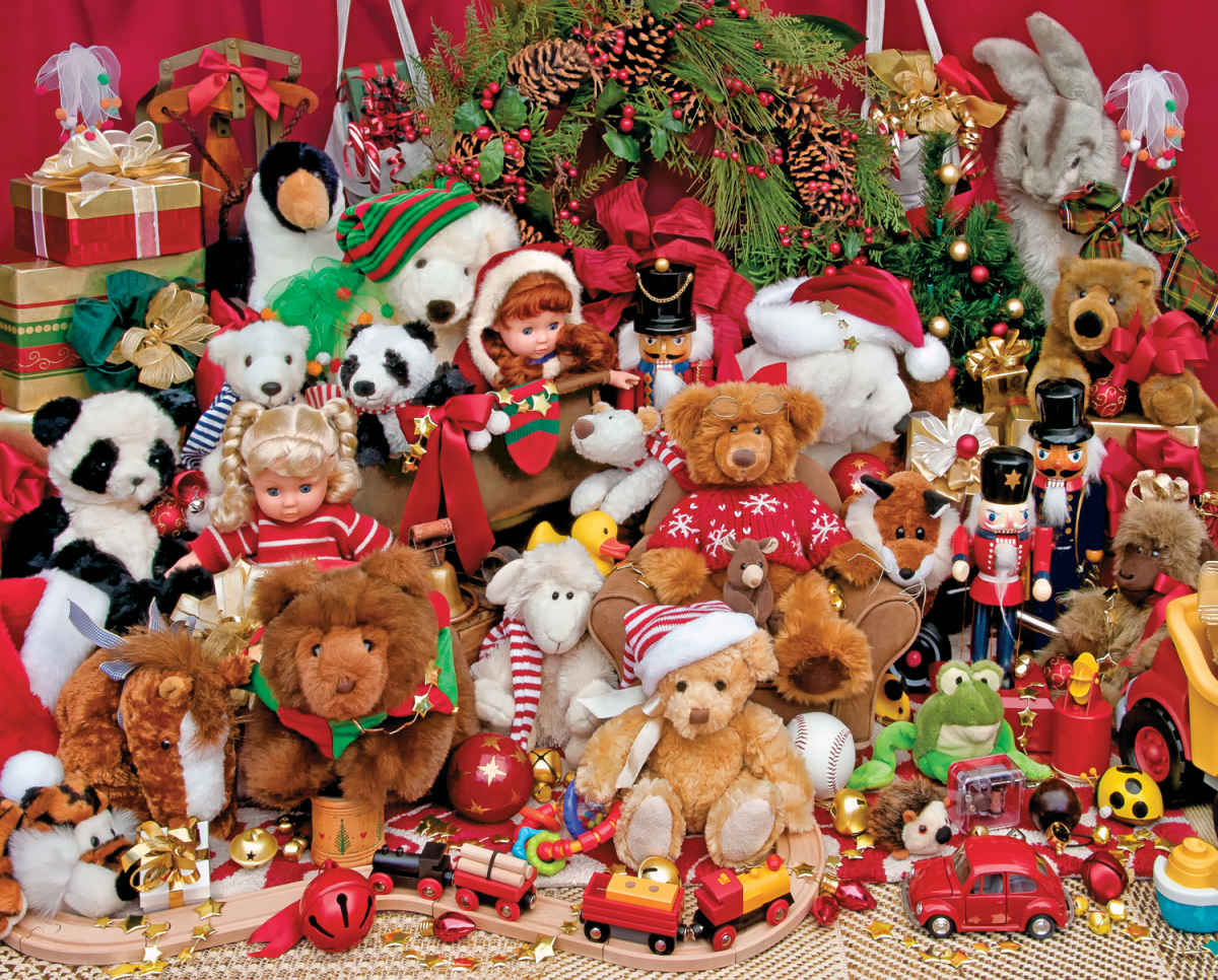 holiday playtime 500 piece jigsaw puzzle