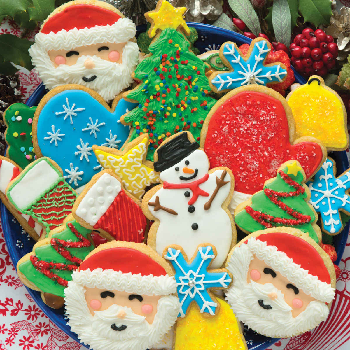 cookies christmas 500 piece jigsaw puzzle