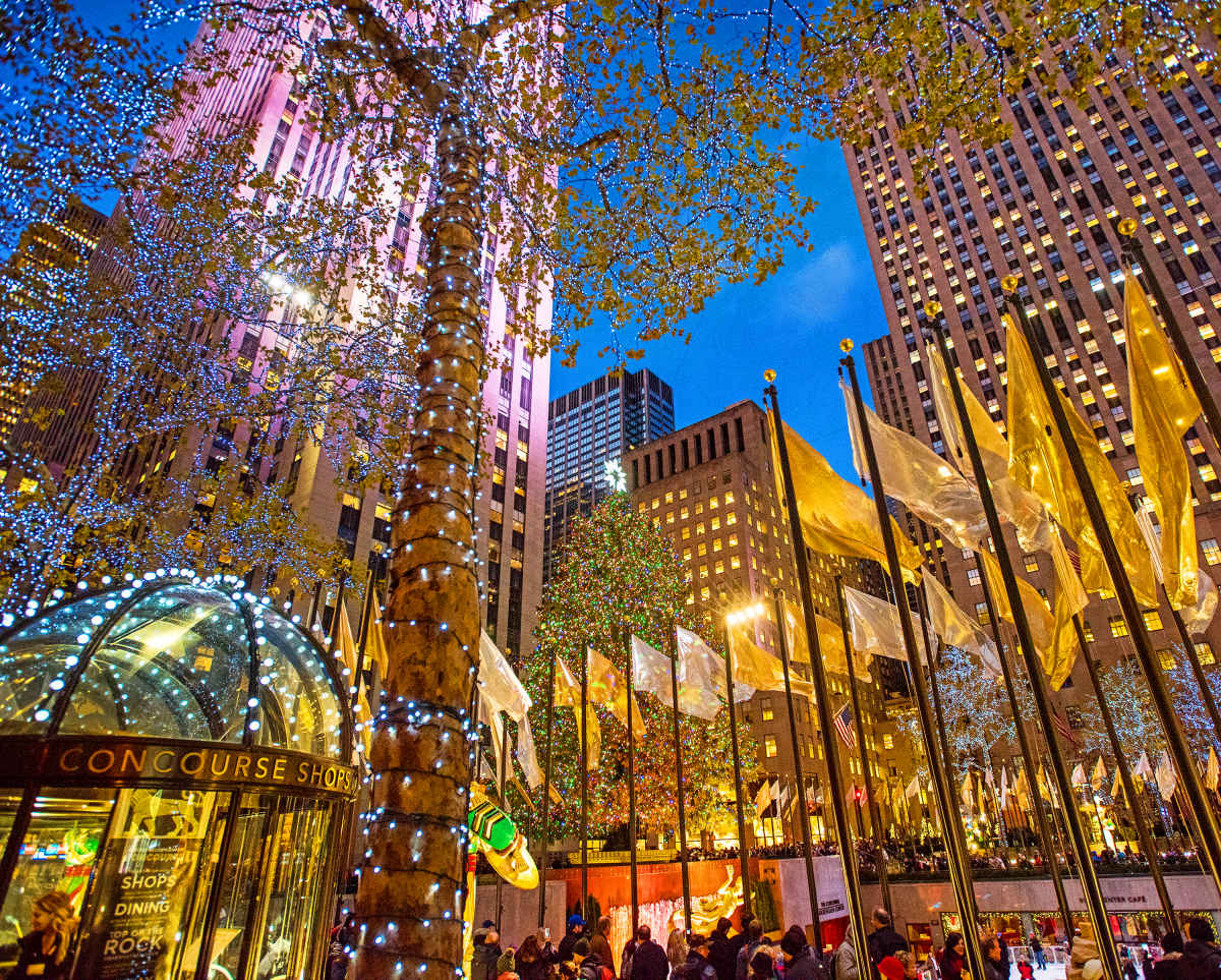 how to get to rockefeller center