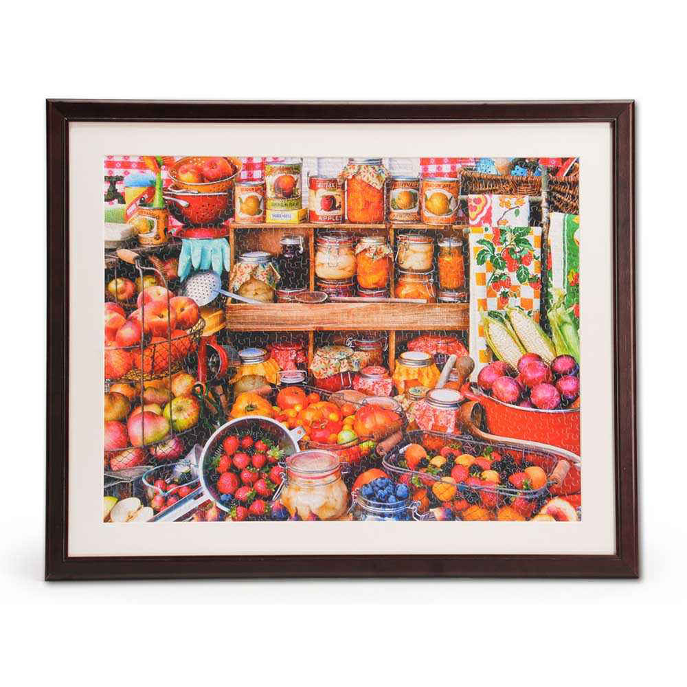 1000 Piece Jigsaw Puzzle Wooden Frame 24\