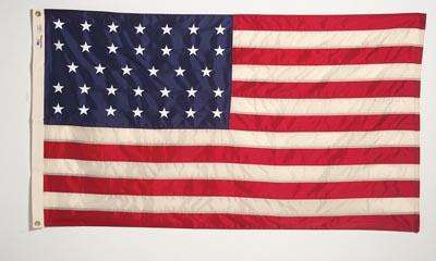 american flag timeline 1776 to present