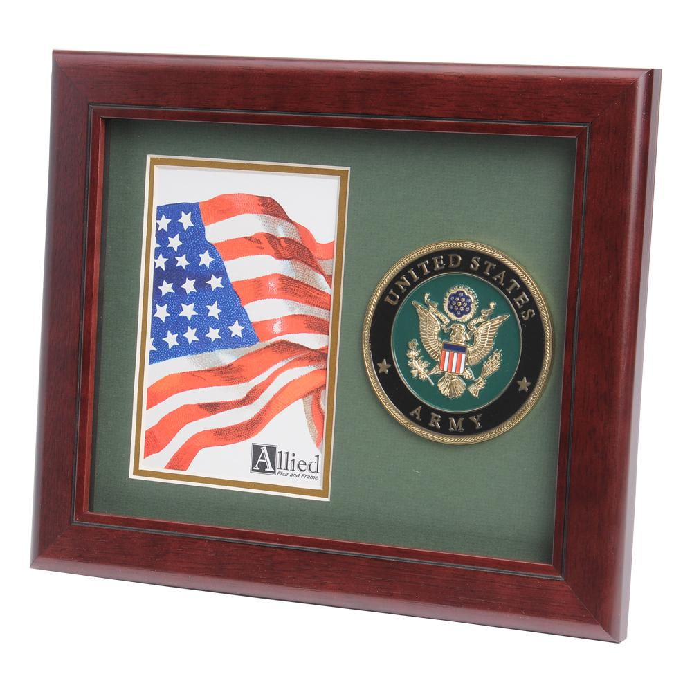 Army medallion 4 inch by 6 inch portrait picture frame us army medallion 4 inch by 6 inch portrait picture frame jeuxipadfo Images