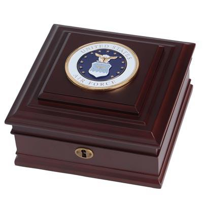 U.S. Air Force Medallion Desktop Box
