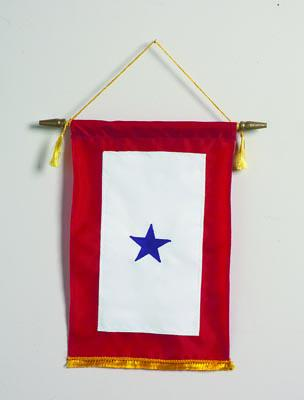 Blue Star Banner - One Star