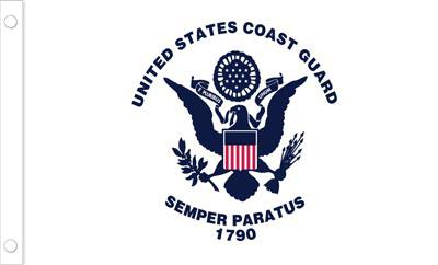 U.S. Coast Guard Flag - 4 x 6 - Nylon