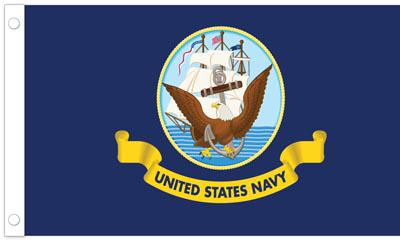 U.S. Navy Flag - 3' x 5' - Nylon