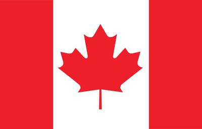 Canada World Flags - Nylon & Polyester - 2' x 3' to 5' x 8'