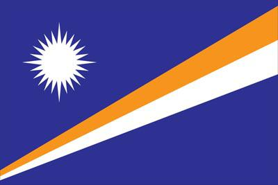 Marshall Islands World Flags - Nylon & Polyester - 2' x 3' to 5' x 8'