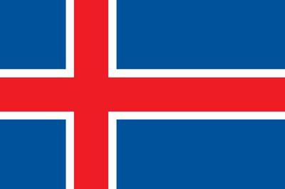 Iceland World Flag