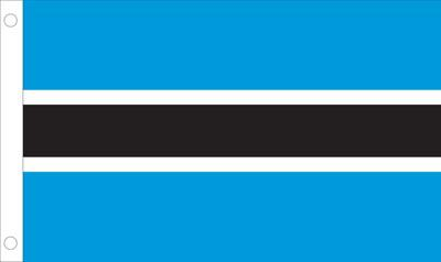 Botswana World Flag