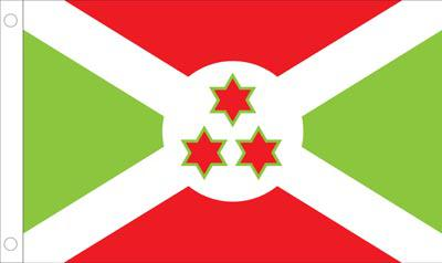 Burundi World Flags - Nylon & Polyester - 2' x 3' to 5' x 8'