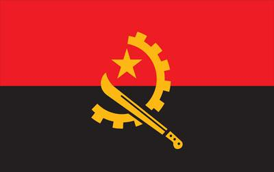 Angola World Flags - Nylon & Polyester - 2' x 3' to 5' x 8'