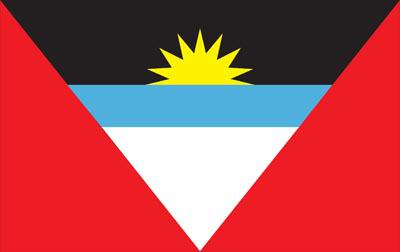 Antigua Barbuda World Flag