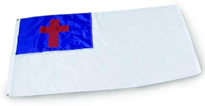 Christian Outdoor Flag - 4' x 6' - Nylon